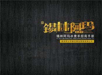 锡林阿玛 招商手册