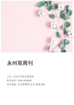永州双周刊(2019)第六期 电子书制作平台
