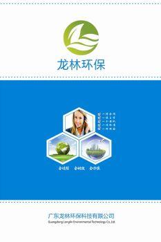 广东龙林环保科技有限公司宣传册