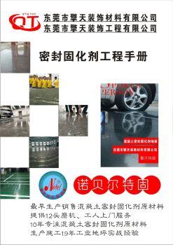 东莞市擎天装饰材料有限公司电子画册