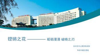 台州市中心医院(台州市学院附属医院)急诊科铿锵之花电子刊物