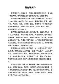 黄岗镇简介(1)