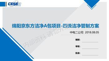 绵阳京东方洁净管制方案2018.8.7修正版电子刊物