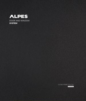 阿尔卑斯门窗系统产品画册