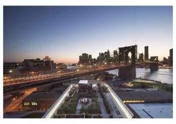 纽约天际线屋顶花园电子刊物