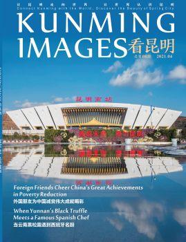 《看昆明》第八期(2021/04)宣传画册 电子书制作软件