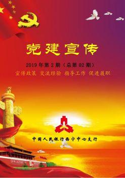 西宁中心支行党建宣传专刊(不忘初心 牢记使命)电子画册