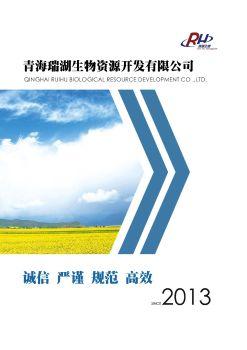 瑞湖生物宣传手册,电子期刊,电子书阅读发布