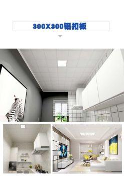 300X300铝扣板电子宣传册