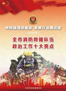 2020年泸州市全市消防救援队伍政治工作十大亮点电子画册