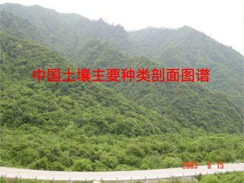 中国土壤主要种类剖面图谱宣传画册