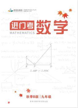 进门考数学9年级B版电子画册