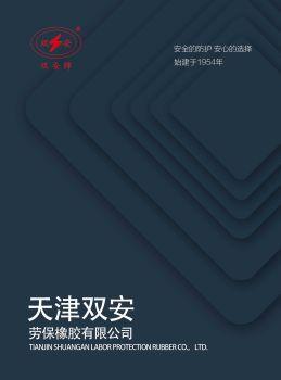 天津雙安勞保橡膠有限公司 樣品冊電子畫冊