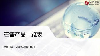 在售产品列表(深圳大区)0116-0118电子书