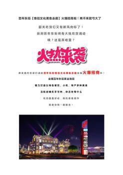 百年东街情侣文化走廊招商电子杂志