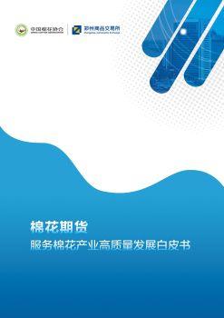 棉花期货服务棉花产业高质量发展白皮书 电子杂志制作软件