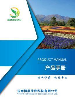 云南恒鼎產品手冊 電子書制作軟件