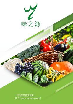 广西味之源食品配送有限责任公司电子画册