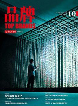 《品牌》杂志第10期 电子书制作软件