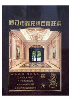 鑫龙石膏线电子刊物