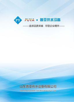 山東普亞供水設備有限公司,翻頁電子畫冊刊物閱讀發布