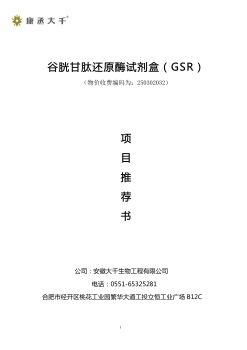 GSR项目推荐书,FLASH/HTML5电子杂志阅读发布