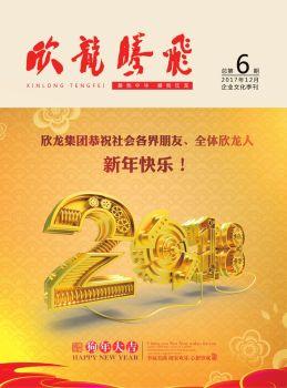 《欣龙腾飞》企业文化季刊第6期电子刊物