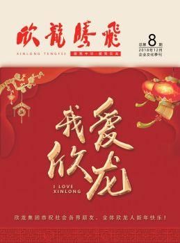 《欣龙腾飞》企业文化季刊第8期电子刊物