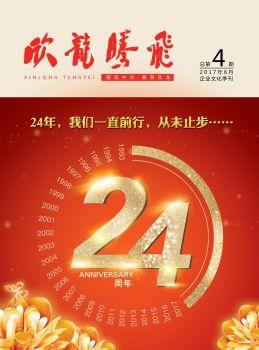 《欣龙腾飞》企业文化季刊第4期电子刊物