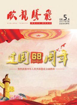 《欣龙腾飞》企业文化季刊第5期电子刊物