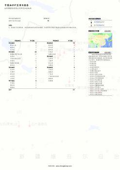 2019年10月:中国油砂矿区报告