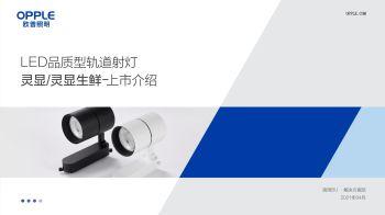 LED品质型轨道射灯-灵显、灵显生鲜系列-产品介绍电子画册