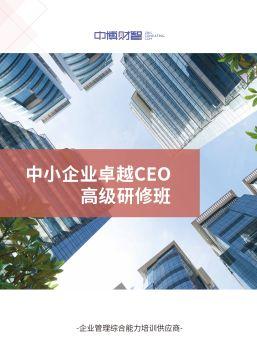 中博财智 中小企业卓越CEO高级研修班 电子杂志制作平台