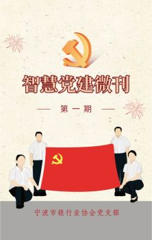 宁波市银行业协会党支部党建微刊第一期 电子书制作软件