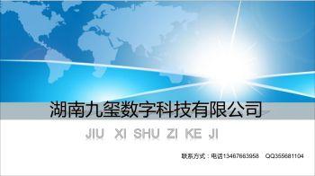 湖南九玺数字科技有限公司简介电子画册