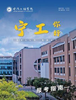 2020年宁波工程学院报考指南电子书
