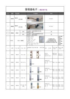 莹德嘉电子产品手册