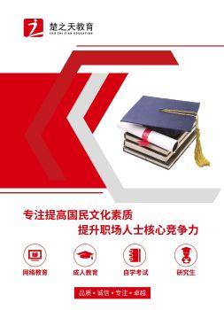 楚之天教育公司宣传画册