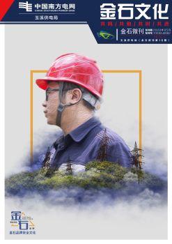 玉溪供电局金石微刊(第十六期)2020年第三期宣传画册