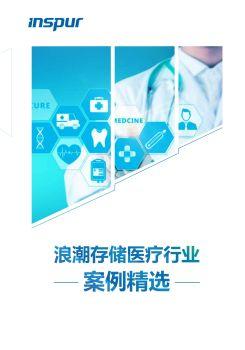 浪潮存储医疗行业案例精选 电子书制作软件