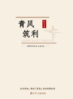 青岛公司内刊—《青风筑利》创刊号奋斗上线!