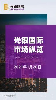 光银国际市场纵览 1月20日电子画册