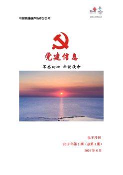 葫芦岛联通党建工作电子月刊(2019年第1期)6.10(1)_424