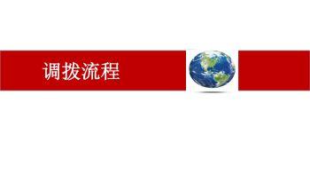 店铺调拨流程 PDF电子画册