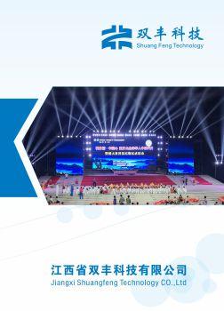 双丰科技宣传册
