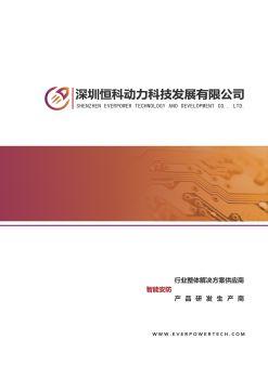 公司彩页2017