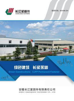 安徽长江紧固件有限责任公司宣传册