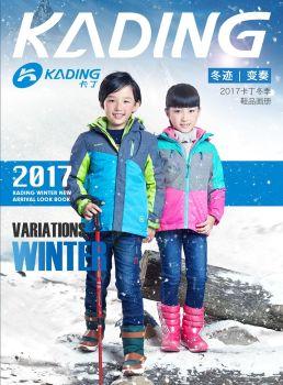 卡丁2017冬季鞋品画册