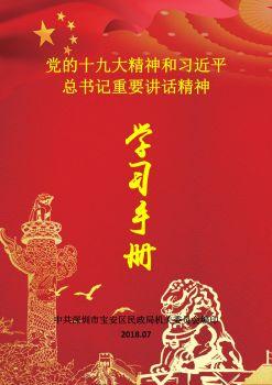 党的十九大精神和习近平总书记重要讲话精神《学习手册》