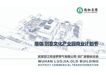 珞珈创意文化产业园商业计划书——徐东项目_20200110122056宣传画册